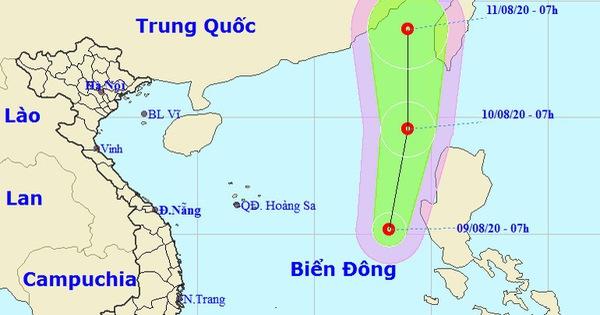 Biển Đông áp thấp nhiệt đới, TP.HCM, Nam Bộ mưa dông