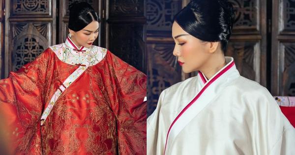 Trang phục Thái hậu Dương Vân Nga giông giống đồ triều Mãn Thanh?