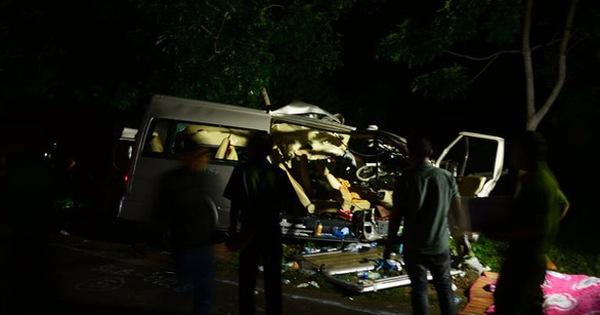 Khởi tố tài xế giao phụ xe lái xe khách gây tai nạn làm 8 người chết