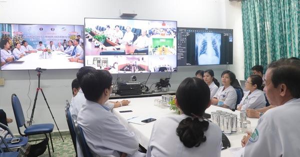 Bệnh viện Bệnh nhiệt đới vận hành trung tâm tư vấn khám bệnh từ xa