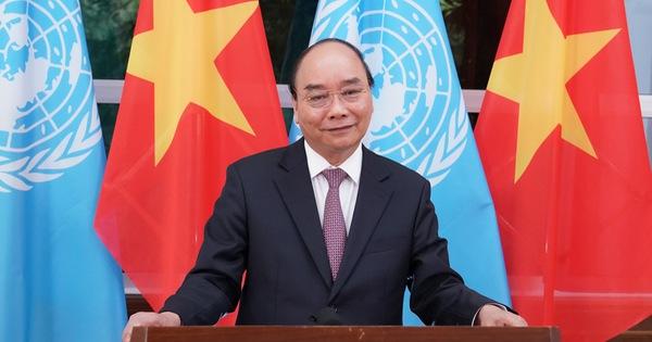 Thông điệp của Thủ tướng Nguyễn Xuân Phúc gửi phiên họp cấp cao Liên Hiệp Quốc
