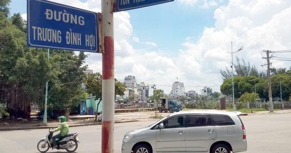Đã có đường Trương Đình Hội ở quận 8, vậy đường Trương Đình Hợi ở quận 4 là sao?