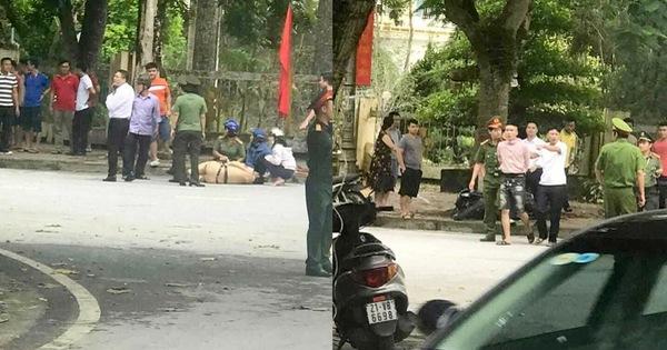 Bị yêu cầu dừng xe, nam thanh niên lao thẳng xe máy vào CSGT