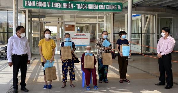 Hai bệnh nhân COVID-19 cuối cùng ở Quảng Nam xuất viện