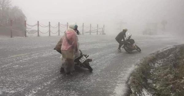 Nghiên cứu ban hành quy định tổ chức giao thông khi có băng tuyết