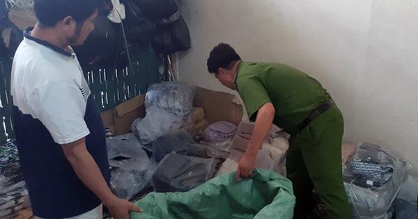 Đồng Nai phát hiện 6.000 sản phẩm giả nhãn hiệu bán cho công nhân
