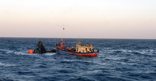 Tìm thấy thi thể một ngư dân của tàu cá Bến Tre chìm ở Côn Đảo