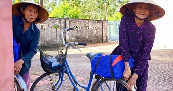 Tết đến sớm với những cảnh đời khó nhọc vùng lũ, bão Bình Định