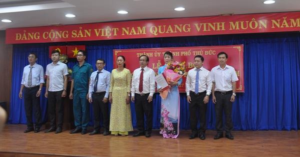Công bố Đảng bộ và chính quyền phường Thủ Thiêm, An Khánh mới