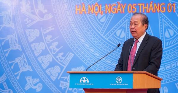 Phó thủ tướng Trương Hòa Bình: 'Phải lên án các hành vi phi văn hoá khi tham gia giao thông'