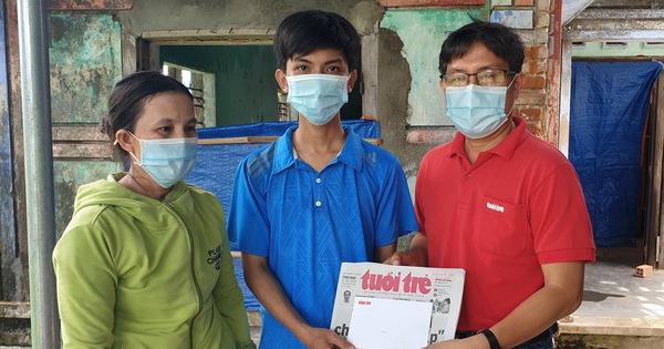 Tuổi Trẻ 'tiếp sức' ngay cho tân sinh viên mồ côi ở Phú Yên kịp nhập học