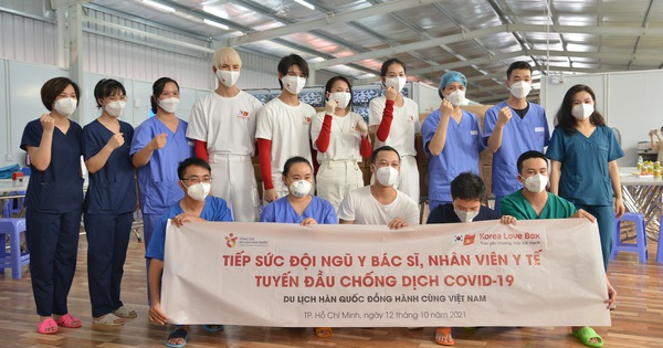 KTO  tại Việt Nam chung tay 'tiếp sức' lực lượng tuyến đầu chống dịch