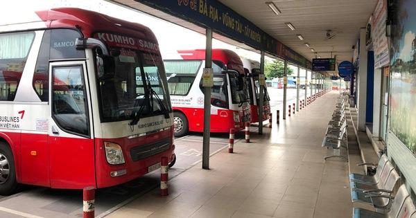 TP.HCM dừng tuyến liên tỉnh Đắk Lắk vì tài xế đón khách mắc COVID-19 dọc đường