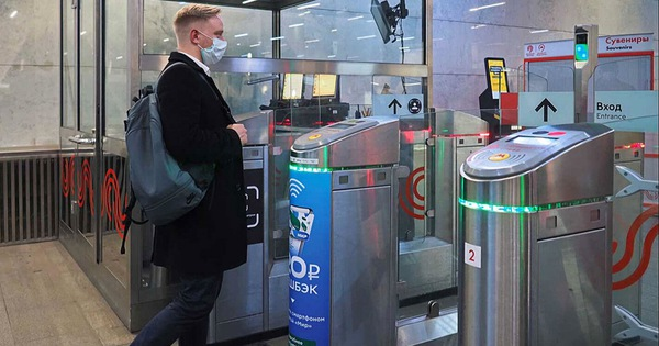 Nga áp dụng ứng dụng thanh toán vé tàu điện dựa trên nhận diện khuôn mặt