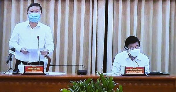 Ban chỉ đạo phòng dịch ở TP.HCM họp cuộc thứ ba trong ngày