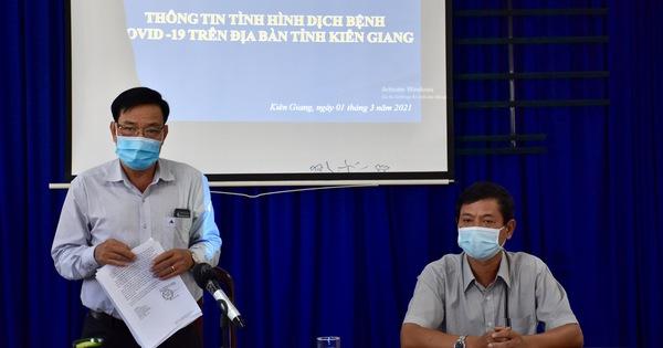 Kiên Giang ghi nhận 5 ca nhiễm COVID-19, đều là người về từ Campuchia
