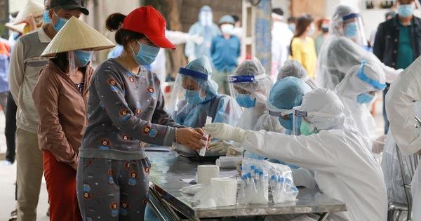 Hải Dương xét nghiệm COVID-19 cho 60.000 người dân Kinh Môn - giá vàng 9999 hôm nay 1311