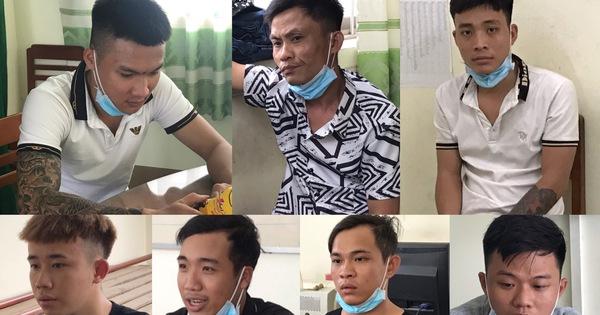 Tạm giữ 7 thanh niên mang dao rựa đi đòi nợ, phá nhà, lấy xe nạn nhân