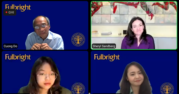 Giám đốc điều hành Facebook nói chuyện trực tuyến cùng sinh viên Việt Nam