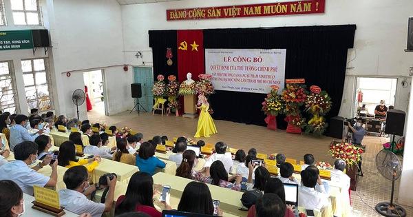 Sáp nhập Trường Cao đẳng Sư phạm Ninh Thuận vào Đại học Nông lâm TP.HCM