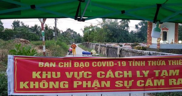 Thừa Thiên Huế dừng tiếp nhận người từ Đà Nẵng, Hải Dương yêu cầu cách ly tại nhà 21 ngày