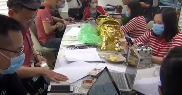Công an Hà Nội và TP.HCM cùng triệt phá 4 sàn giao dịch vàng, tiền ảo