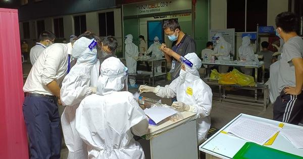 Bắc Giang: Ổ dịch mới ở Công ty Hosiden đã có 35 công nhân mắc COVID-19
