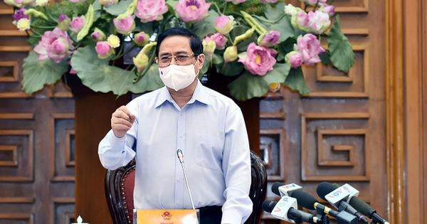 Thủ tướng: Chúng ta đang kiểm soát được dịch nhưng không chủ quan, lơ là, mất cảnh giác