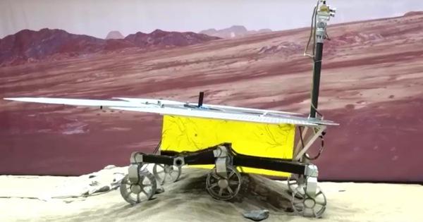 Trung Quốc đã hạ cánh tàu thăm dò xuống bề mặt sao Hỏa