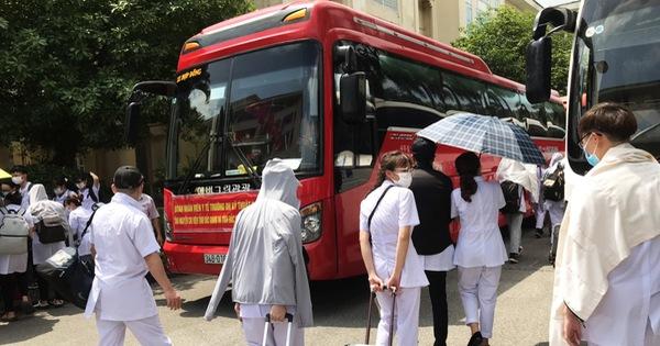 250 sinh viên trường y xuất quân chi viện cho Bắc Giang, Bắc Ninh