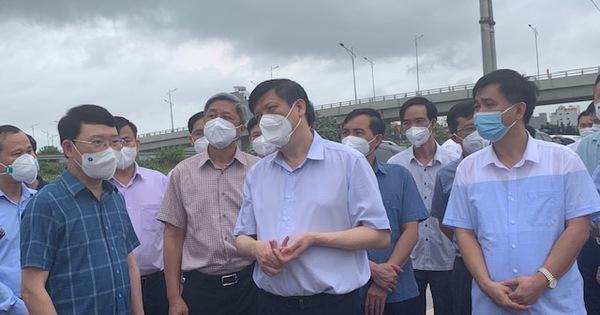 Bộ Y tế lập Bộ phận thường trực chống dịch tại Bắc Giang, Bắc Ninh