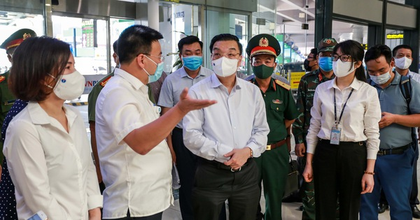 Chủ tịch Hà Nội Chu Ngọc Anh: Không chủ quan vì nguy cơ lây nhiễm rất cao