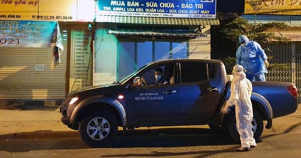 6 cán bộ công an làm căn cước công dân ở Đồng Nai phải đi cách ly tập trung
