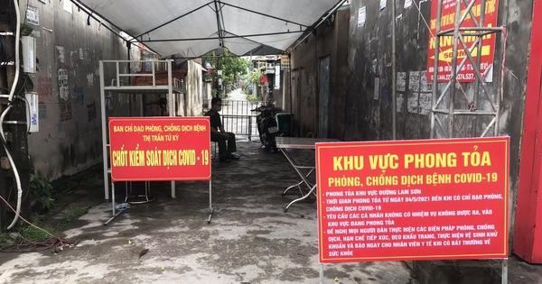Hải Dương phong tỏa một khu dân cư tại huyện Tứ Kỳ