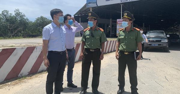 Huế lập trạm giám sát ngăn COVID-19 từ các tỉnh phía nam đèo Hải Vân