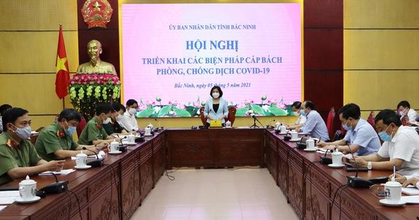 Phát hiện 2 ca COVID-19, Bắc Ninh tạm dừng làm căn cước công dân gắn chip
