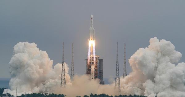 Trung Quốc: Các mảnh vỡ tên lửa Trường Chinh 5B đã rơi xuống Ấn Độ Dương