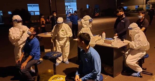 Thêm 3 công nhân dương tính, tạm dừng hoạt động Công ty Shin Young Việt Nam