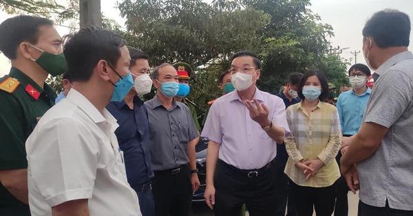 Chủ tịch Hà Nội: 'Tận dụng 48 giờ vàng khống chế lây nhiễm biến thể virus Ấn Độ'