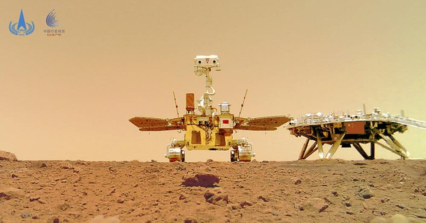 Trung Quốc công bố ảnh robot trên sao Hỏa sau tin đồn 'vỡ nát'