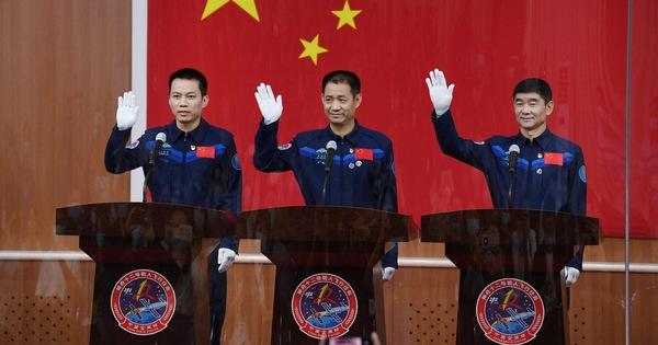 Sáng mai, Trung Quốc đưa 3 phi hành gia lên trạm không gian Thiên Cung