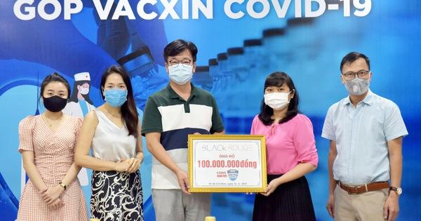 Nhãn hàng Black Rouge ủng hộ 100 triệu đồng ''góp vắc xin COVID-19''