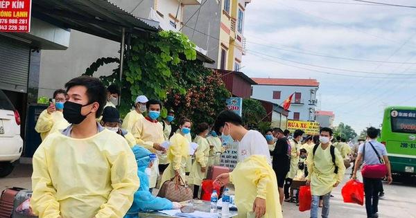 Bắc Giang bác tin 500 công nhân từ tỉnh này về Thái Nguyên trốn cách ly - mega 645