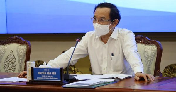 Bí thư Nguyễn Văn Nên đặt vấn đề nâng cao mức giãn cách xã hội tại TP.HCM