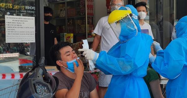 18 trường hợp dương tính từ 7 mẫu xét nghiệm gộp ở Đà Nẵng