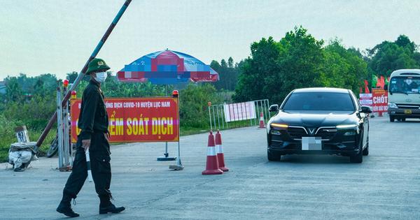 Hai huyện của tỉnh Bắc Giang dỡ bỏ phong tỏa, chuyển sang giãn cách xã hội