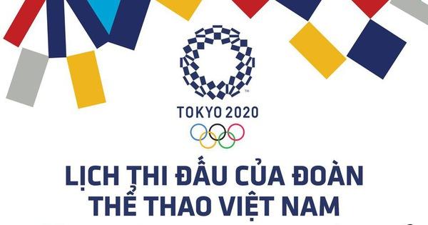 Lịch thi đấu ngày 24-7 của đoàn Việt Nam tại Olympic 2020: Hoàng Xuân Vinh 'ra trận'