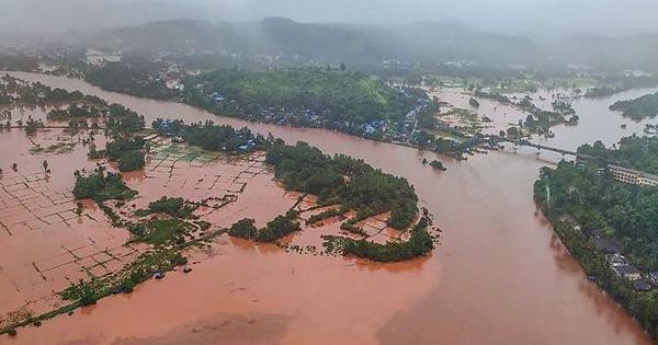 Ấn Độ: Mưa lớn gây lở đất, 44 người chết, 80 người mất tích ở một huyện