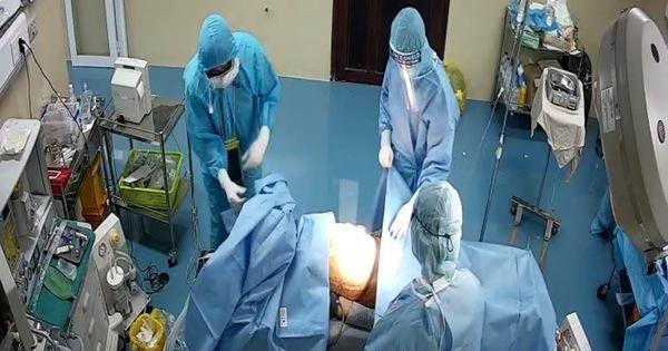 Bệnh nhân mắc COVID-19 bị thủng dạ dày được phẫu thuật kịp thời