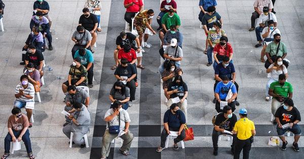 Thái Lan có kỷ lục mới 14.575 ca nhiễm, Indonesia vượt mốc 3 triệu ca